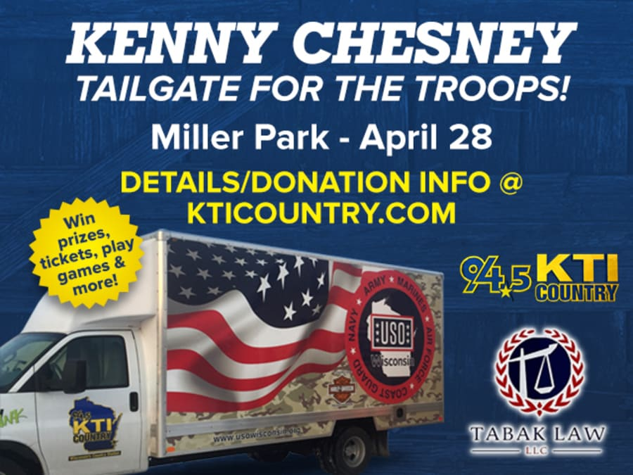 Tailgate for the Troops being held at Miller Park Saturday