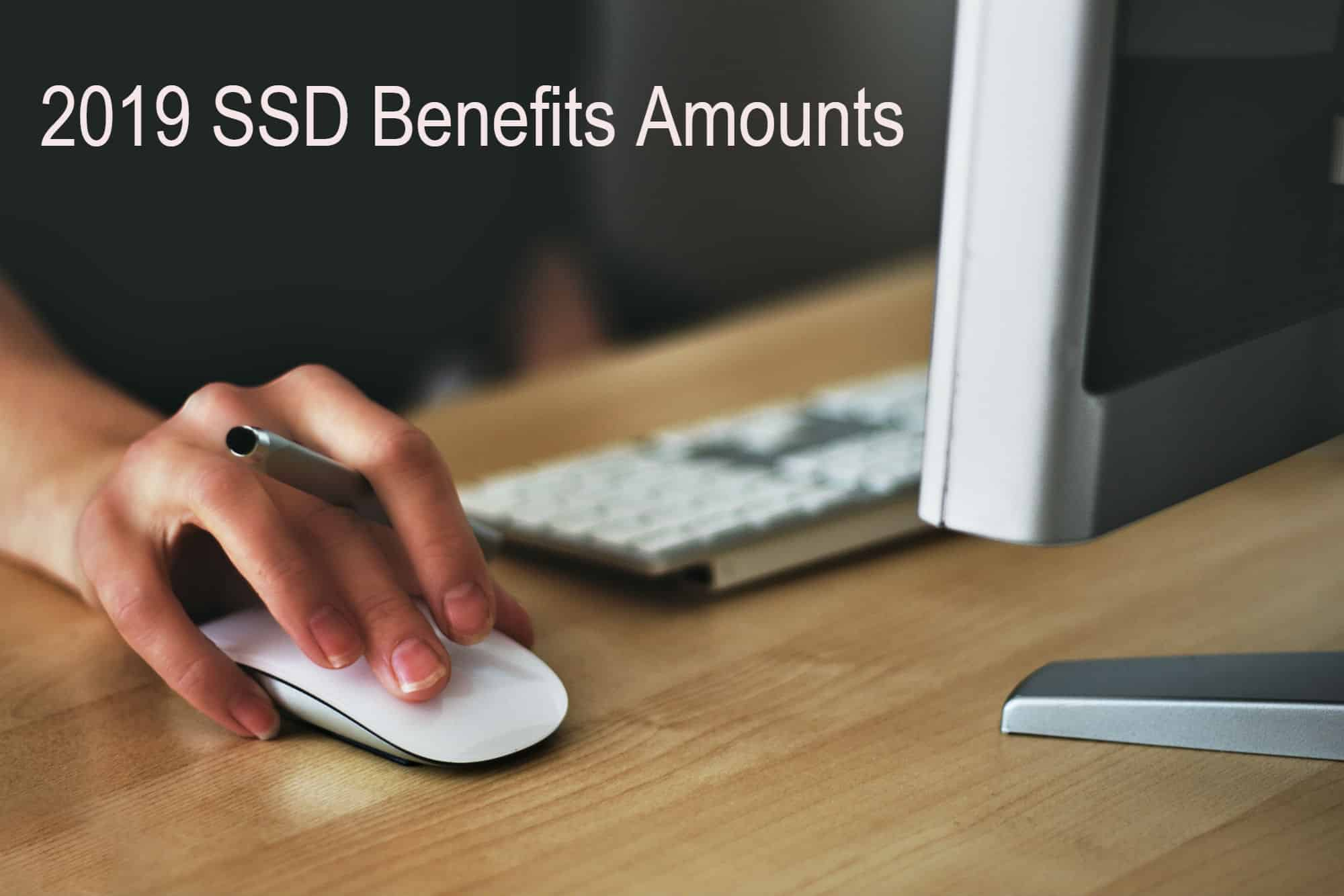 2019 ssd benefits increase