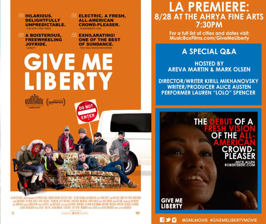 """""""Give Me Liberty"""" Premier featuring The Milwaukee Eisenhower Center"""