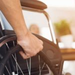 Picture of a Person Facing Difficulties with Disabilities